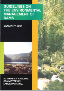 Colour cover Environental Management of Dams - 2001