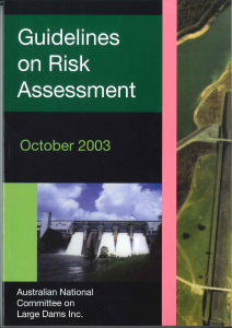 Colour cover Risk Assessment -2003