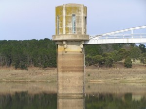 Cairn Curran Reservoir Intake Tower