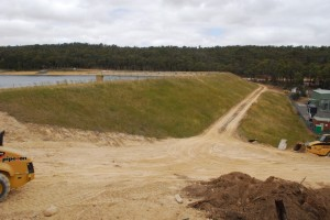 Musical Gully Dam Safety Upgrade works - January 2014 Prior to commencement of Bulk Earthworks