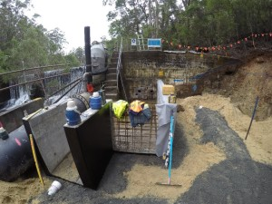 Downstream work under way